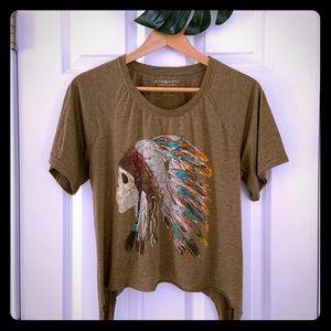 Ralph Lauren Denims Scull in a Headdress t-shirt